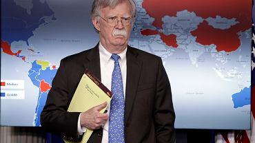 Wenezuela. John Bolton, doradca ds. bezpieczeństwa narodowego USA