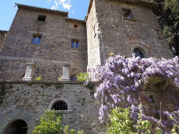 Castello Neve w Toskanii we Włoszech.