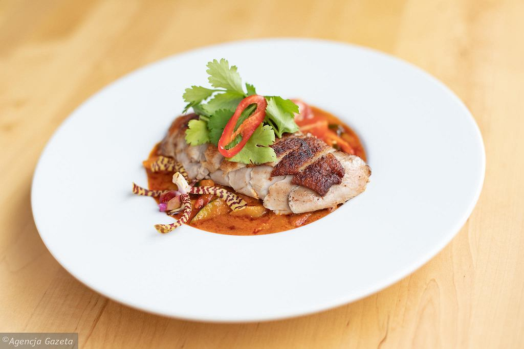 Curry Panang z kaczka z restauracji tajskiej Basil & Lime / DAWID ZUCHOWICZ