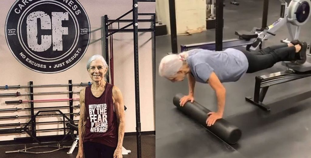 72-letnia wielbicielka CrossFitu