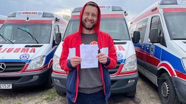 Rafał Jas z dziennikarstwa zdecydował się przejść do medycyny
