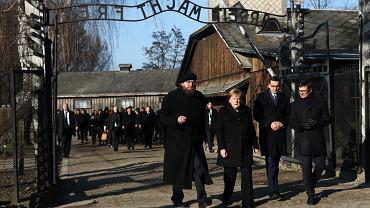 5Kanclerz Niemiec Angela Merkel w Auschwitz - Birkenau