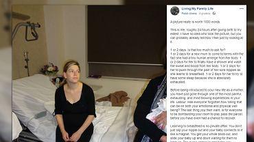 Australijska blogerka poprosiła, aby nikt nie odwiedzał jej przez dwa dni po porodzie