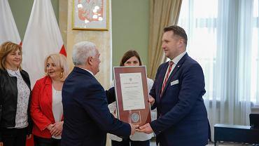 Medale od Przemysława Czarnka