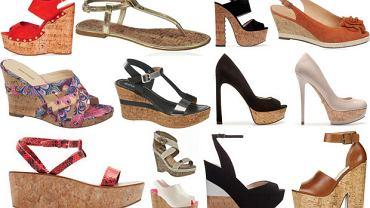 Buty z korkową podeszwą