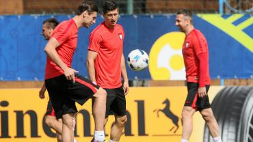 Trening przed meczem Ukraina - Polska