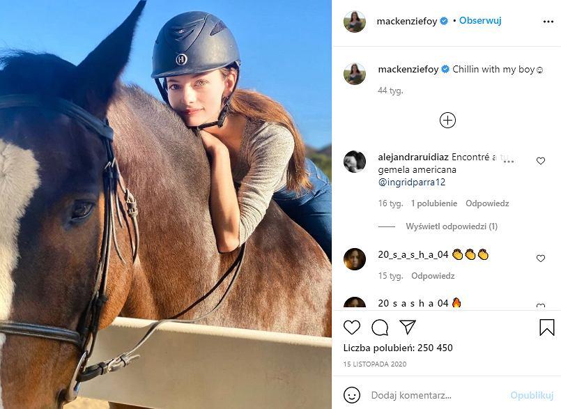 Filmowa córka Belli i Edwarda ze 'Zmierzchu' niebawem kończy 21 lat. Jak dziś wygląda? Mackenzie Foy skradła serca fanów sagi