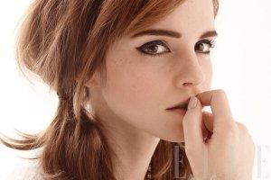 Emma Watson w sesji dla ELLE US, kwiecień 2014