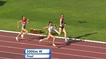 Sofia Ennaoui finiszuje