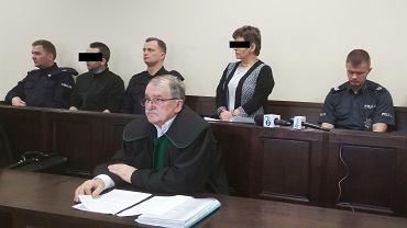 Tomasz G. i jego matka Małgorzata G. w poznańskim sądzie