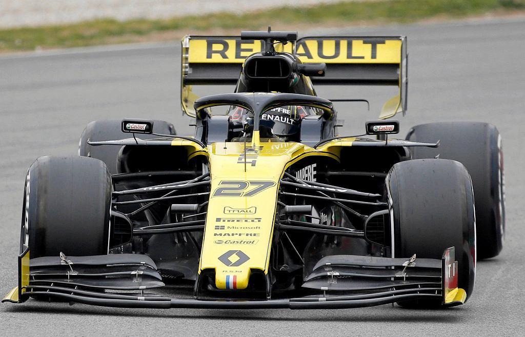 Robert Kubica podczas testów na torze Montmelo. Barcelona, 27 lutego 2019