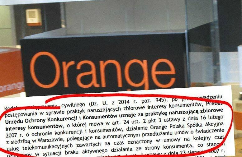 Kara UOKiK dla Orange Polska