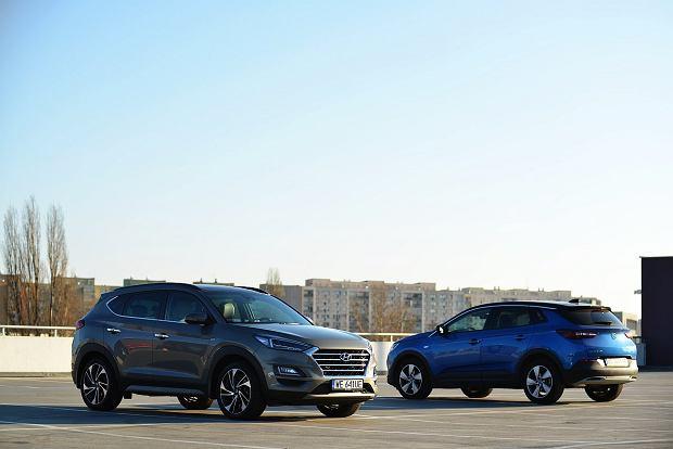 Opel Grandland X 2.0 CDTi vs. Hyundai Tucson 2.0 CRDi