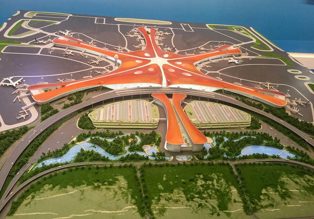 Nowe lotnisko Beijing-Daxing