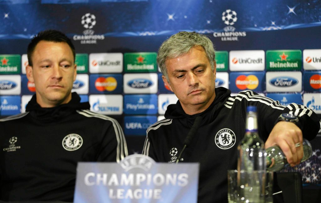 John Terry i Jose Mourinho