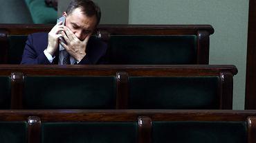 Prokurator generalny i minister sprawiedliwości Zbigniew Ziobro.