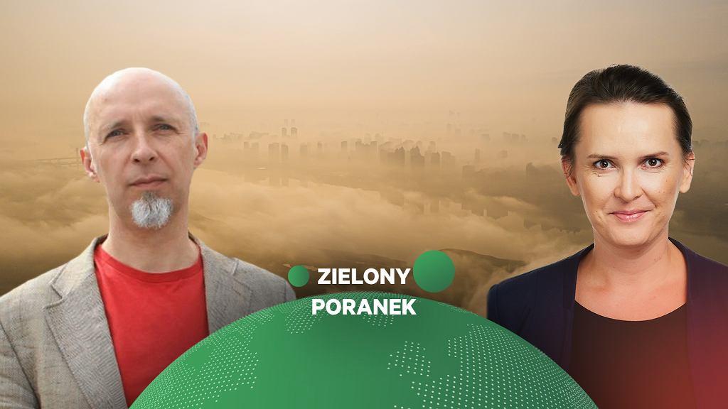 Nadchodzi sezon na smog. Piotr Siergiej z Polskiego Alarmu Smogowego w Zielonym Poranku Gazeta.pl