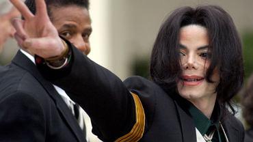Michael Jackson, zdj. z 2005 r.