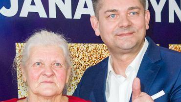 Zenon Martyniuk i jego mama