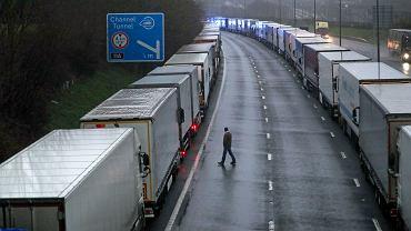 Wielka Brytania. Olbrzymie kolejki na granicach
