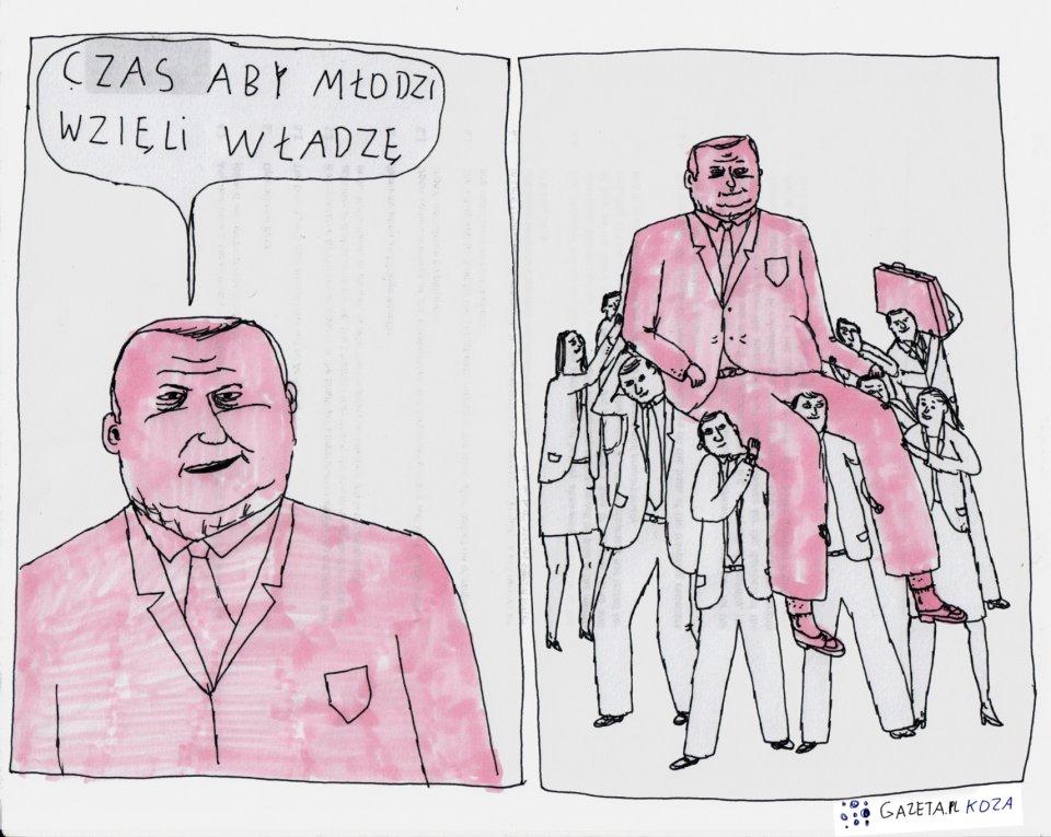 Koza dla Gazeta.pl [14] - Rys. Jan Koza