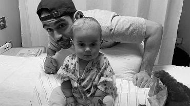 Andrew Kaczynski z córką