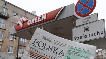 Orlen przejmuje tytuły prasowe Polska Press. Warszawa, 15 grudnia 2020
