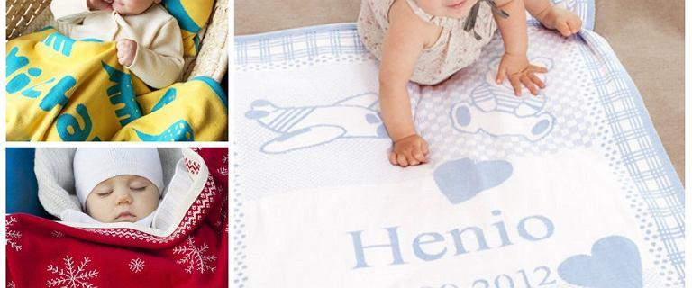 Personalizowane kocyki dla niemowląt - idealne na prezent. Przegląd modeli
