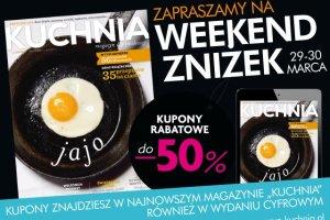 Kupony rabatowe - tanie zakupy z magazynem KUCHNIA