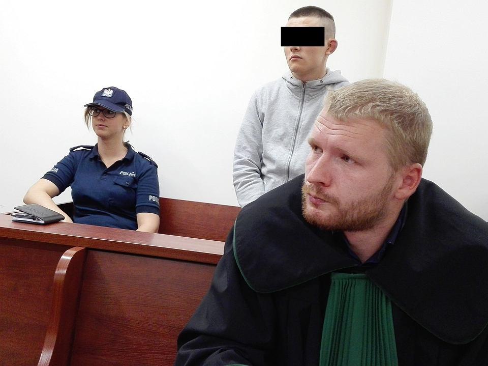 Proces Łukasza G., oskarżonego o napady na sklepy spożywcze w Gorzowie