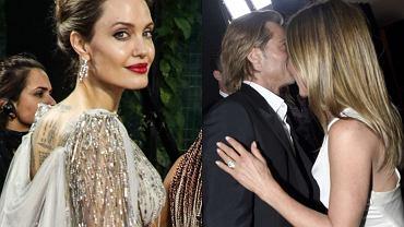 Angelina Jolie nie przejęła się zdjęciami Brada i Jen
