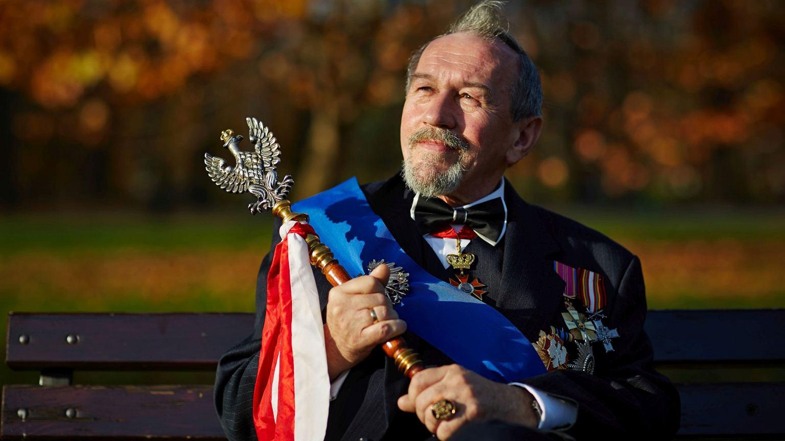 Leszek Wielki Książę Wierzchowski wierzy, że monarchia zostanie w Polsce przywrócona