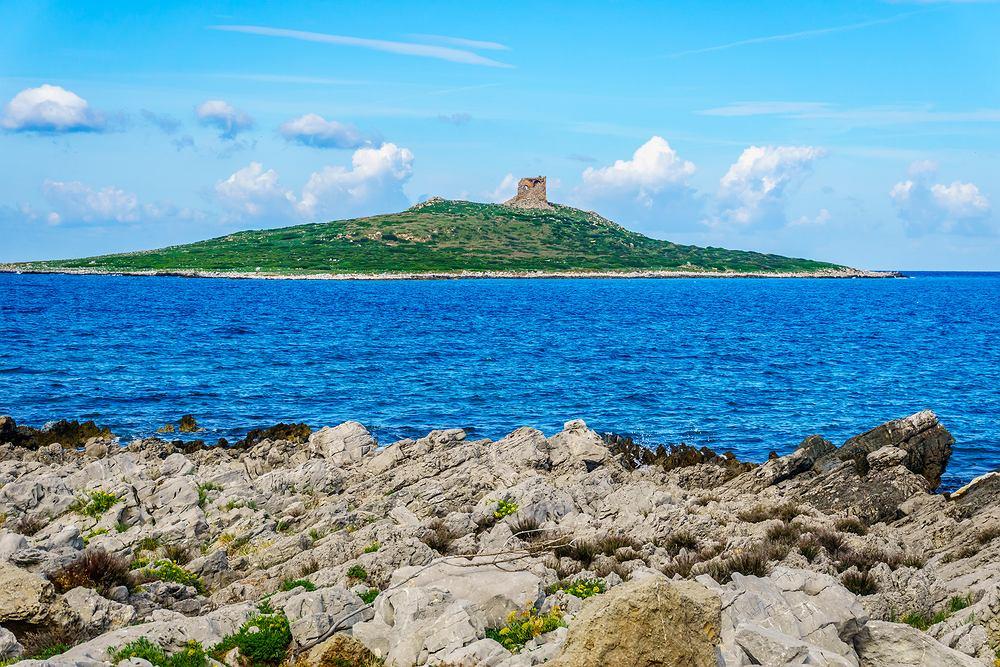 Włoska wyspa Isola delle Femmine