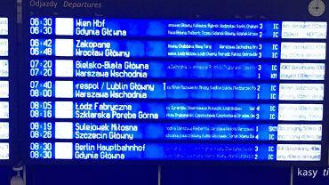 Awaria na stacji Warszawa Wschodnia. Pociągi opóźnione nawet o 183 minuty