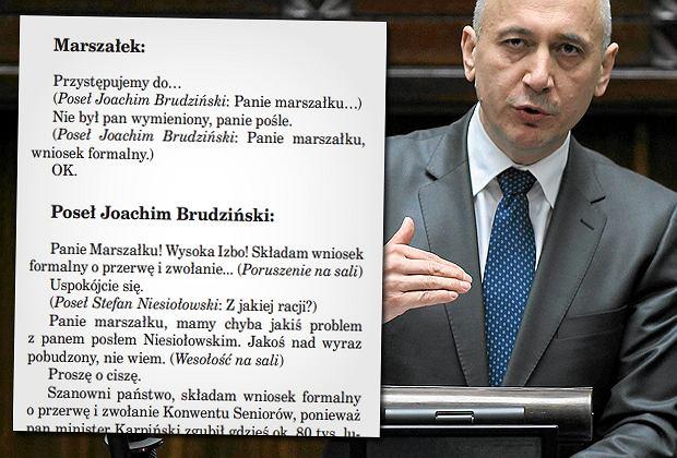 Głosowanie nad ustawą o górnictwie