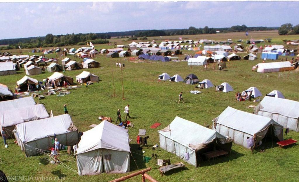 Obóz harcerski (zdj. ilustracyjne)