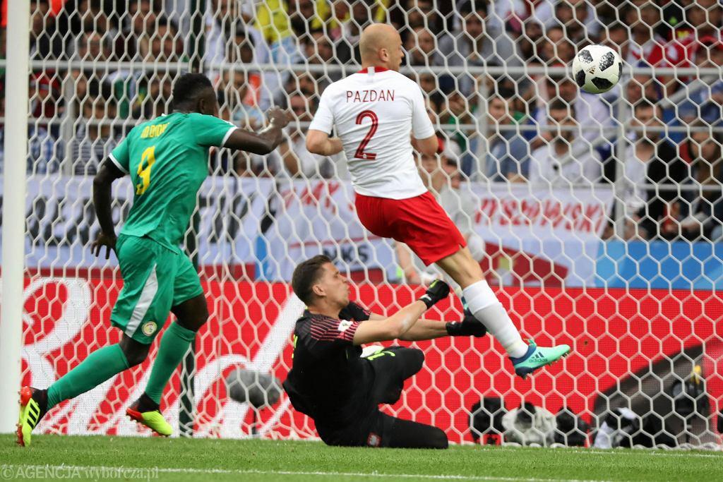 Mecz Polska-Senegal (1:2). Mistrzostwa Świata w Piłce Nożnej w Rosji, Moskwa, Stadion Spartaka, 19 czerwca 2018
