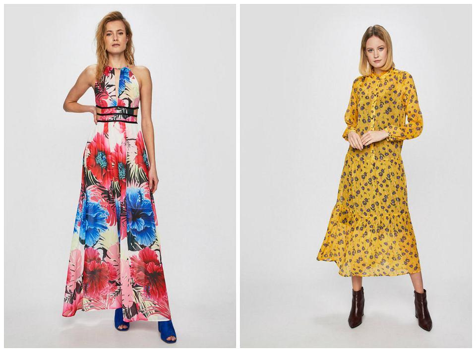 Sukienki w kwiatki
