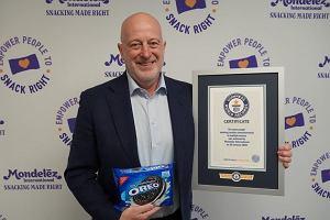 Mondelez International świętuje rekordową sprzedaż ciastek Oreo ustanawiając rekord Guinnessa!