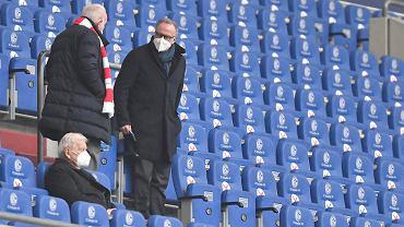 Prezes Bayernu Monachium grzmi.