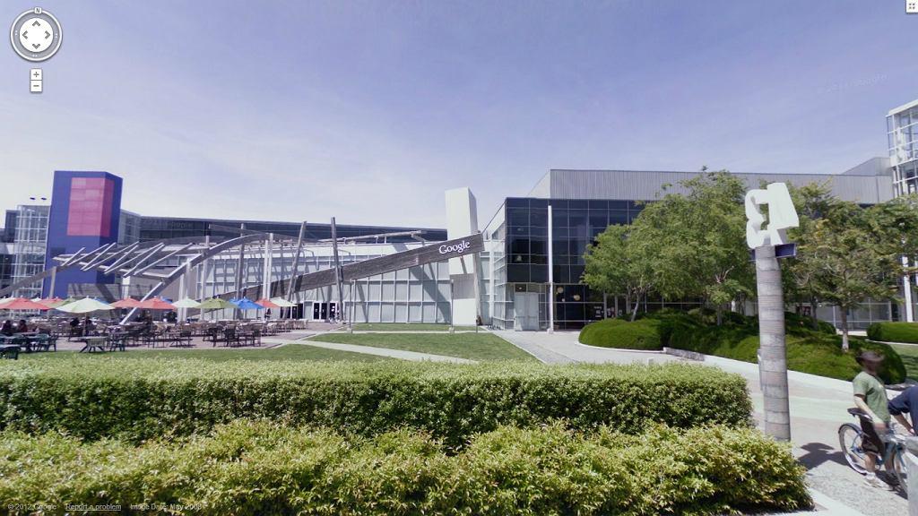 Siedziba Google. Dokładniej to budynek numer 43 z wielkiego kompleksy zwanego Googleplex.