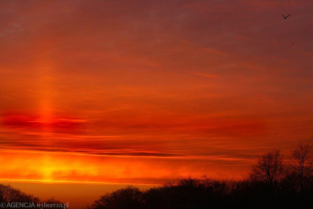 Wschód słońca w Gdyni