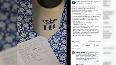 Kobieta ukradła kufel z niemieckiej karczmy. Zwróciła go po 55 latach