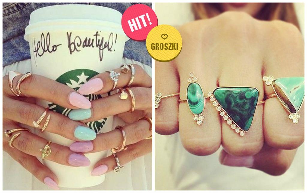 Stylowe pierścionki - idealny dodatek