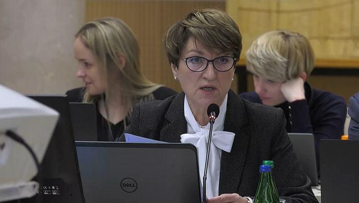 Sejmik lubuski, debata o koronowirusie. Marszałek lubuska Elżbieta Polak