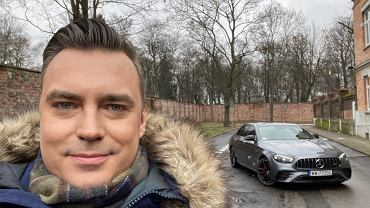Tomasz Korniejew i Mercedes-AMG E 53 4MATIC+