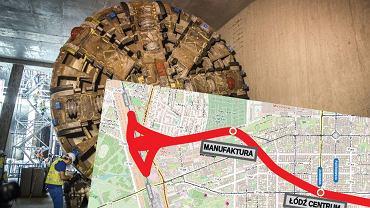 Łódź zyska tunel średnicowy. Będzie drążony jak warszawskie metro
