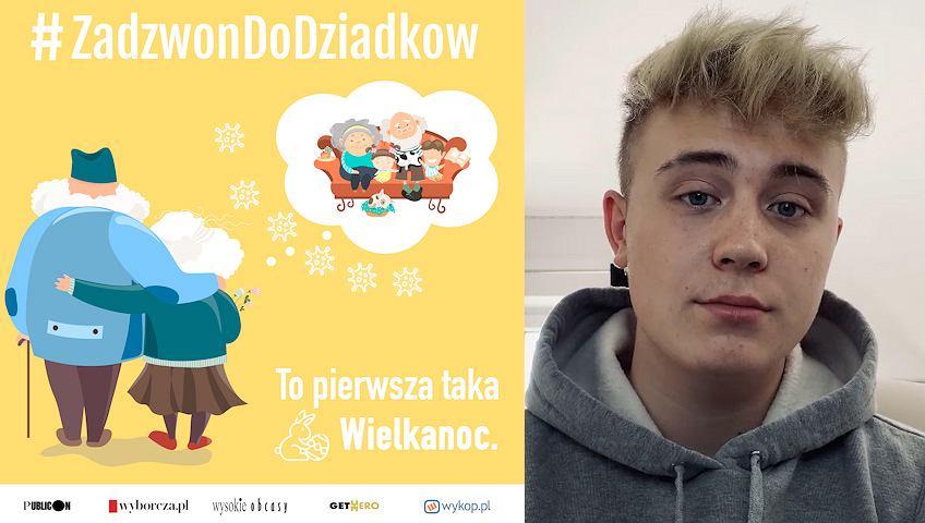 Adrian Rokowski, #ZadzwonDoDziadkow