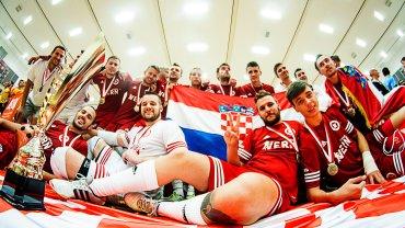 Zwycięska drużyna z Chorwaccji