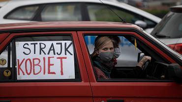 Protest przeciwko projektowi antyaborcyjnemu